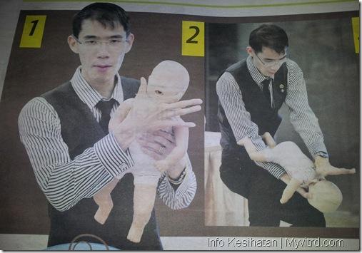 Teknik Bantuan Bayi Tercekik 1