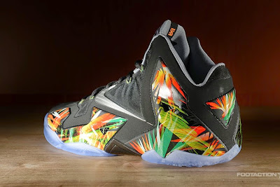 nike lebron 11 gr everglades 2 01 The Nike LeBron 11 Everglades Drops in 4 Days