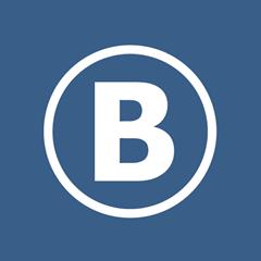 Лого В в круге