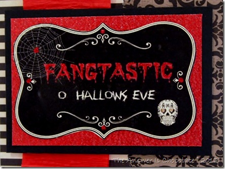 Fangtastic Card Closeup
