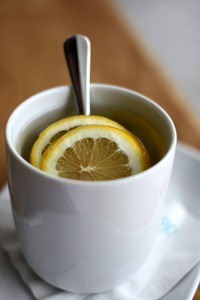 Hot Tea with Lemon by boo_licious, on Flickr [used under Creative Commons License]