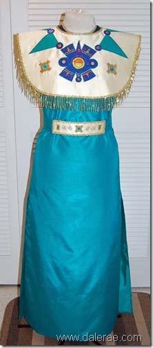 princesa azteca disfraz (5)