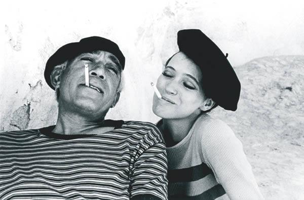 Eve Arnold - Karina & Quinn 1976.jpg