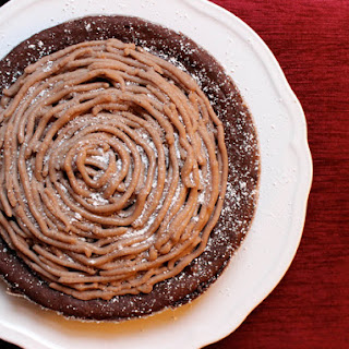 Flourless Chocolate-Chestnut Torte