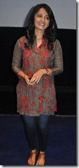 Actress Anushka at Alex Pandian Movie Press Show Stills
