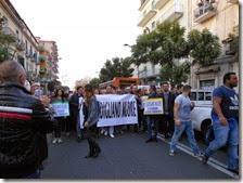 Manifestazione Secondigliano contro il degrado