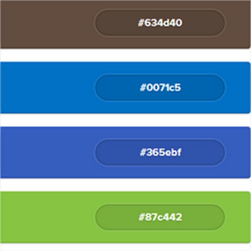 Útil sitio web con los colores usados por las empresas