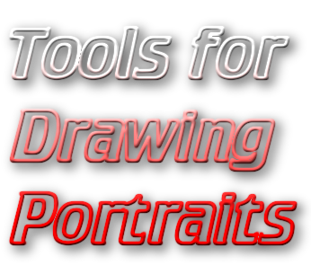 tools for drawing portraits