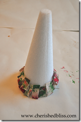 glue on cone