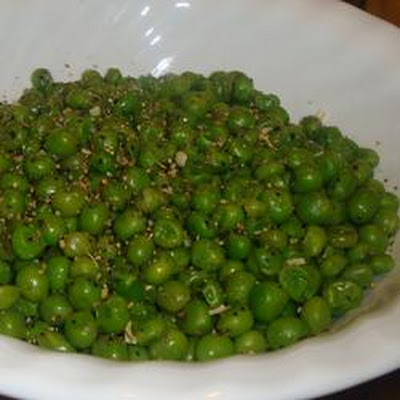 Lemon Pepper Peas