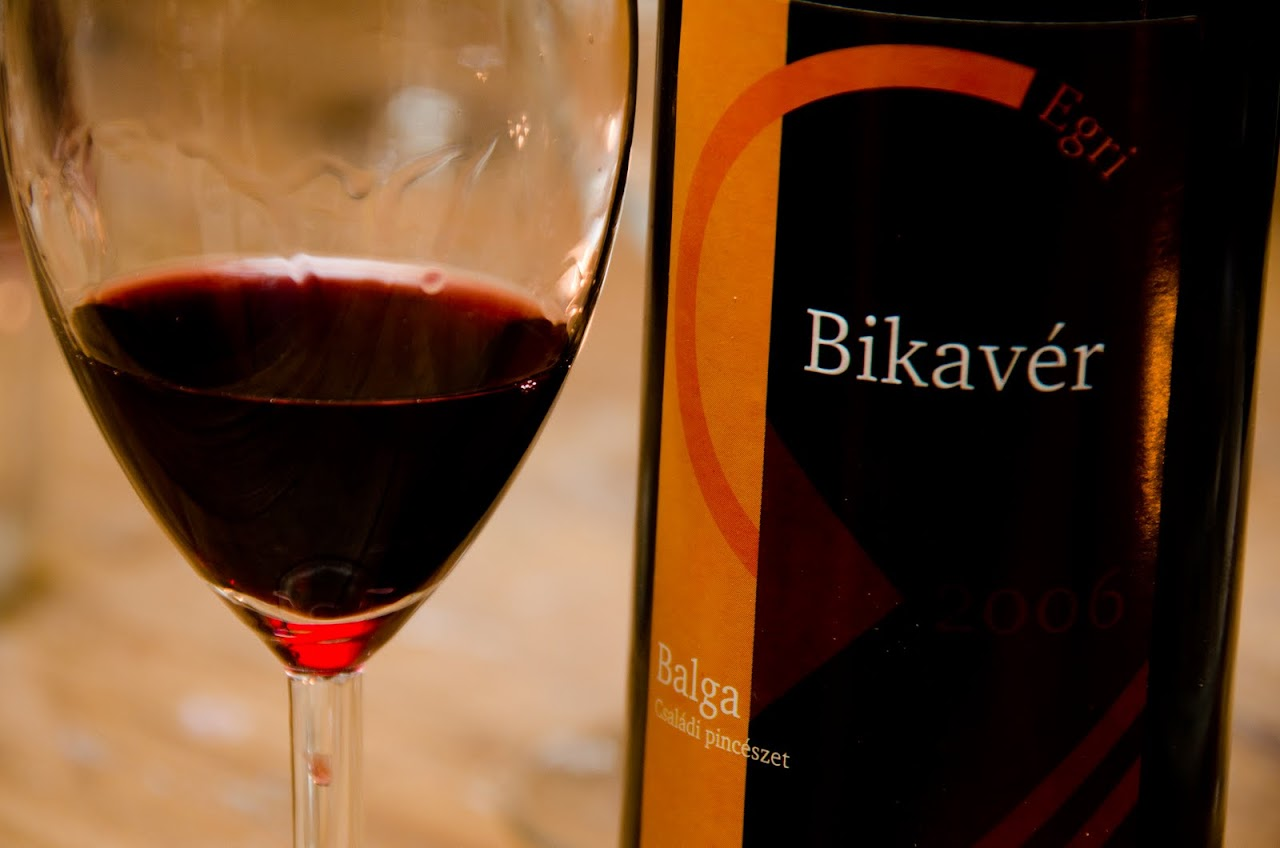 Bikaver Hungarian wine