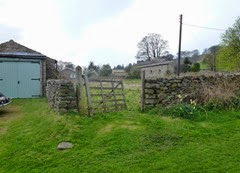 gate to rough field