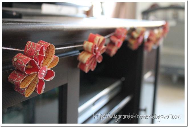 Paper Flower Garland (3)