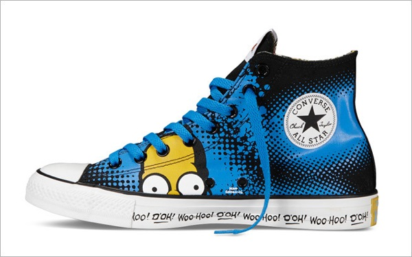 Simpsons Sneakers converse 7