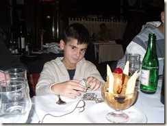 Mein Geburtstag im Restaurant Il Proschiuto 001