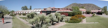 frank lloyd wright Taliesin west panorama