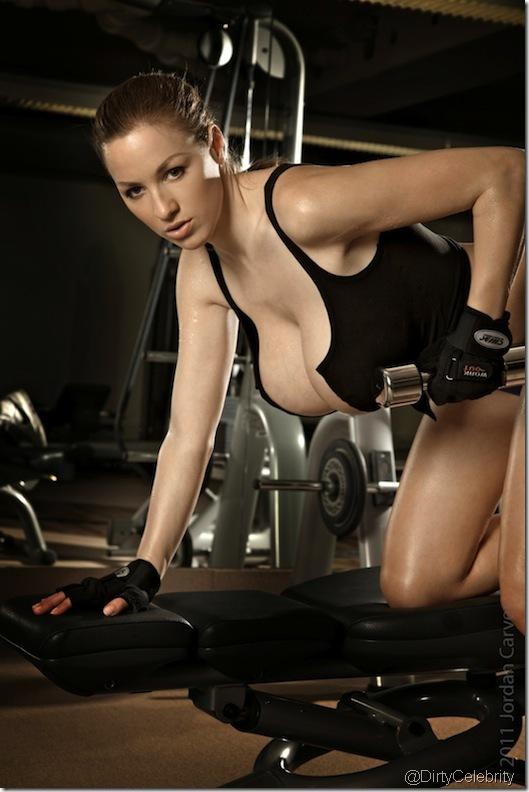 sweaty-Jordan-Carver-Gym-10