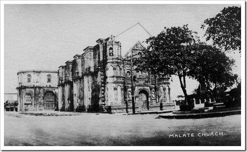 Malate Church 1918