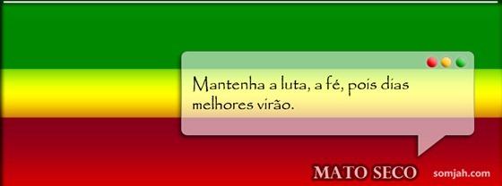 capa para fabook reggae frase MATO SECO