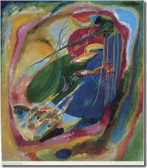 Wassily Kandinsky, Pintura con tres manchas n 196