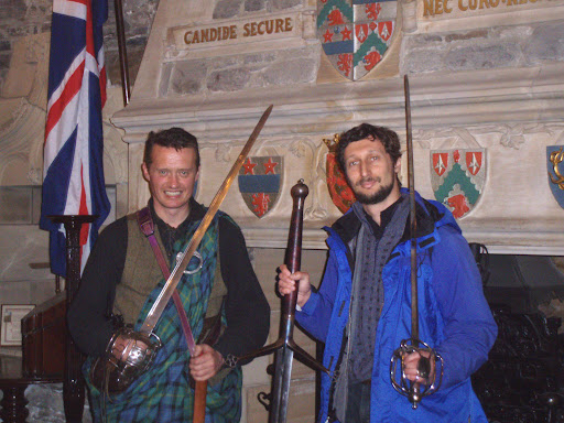 Discussing Scottish broadswords