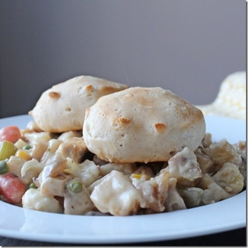 Cavendish Farms Rustic Reds used to make this Chicken Pot Pie Recipe from Setting for Four