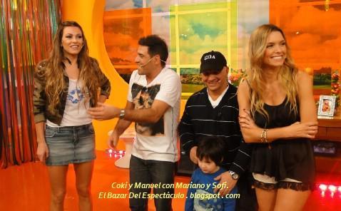 Coki y Manuel con Mariano y Sofi..JPG