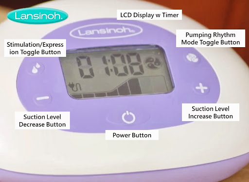 Lansinoh Affinity Pro Double Electric Breast Pump Efficiency Suction Ratings Reviews.jpg.jpg