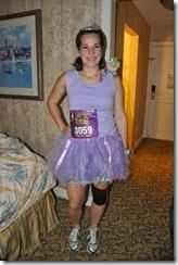 Rapunzel Running Costume