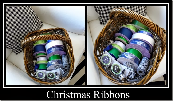 Ribbet collage Christmas Ribbons 2013
