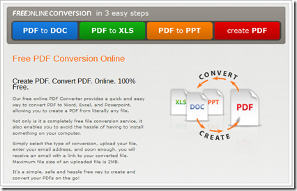 Free PDF Conversion Online