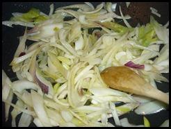 Padellata di verza e salsiccia (1)