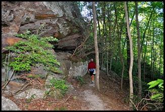 33 - Rock Garden Trail - Continue along the ridge
