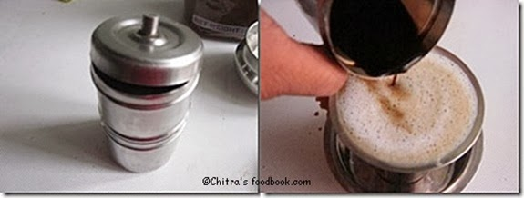 coffee step by step picture