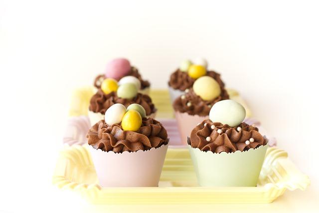 enkle og søte cupcakes til påske IMG_6277
