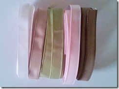Ribbon share TAFFETA