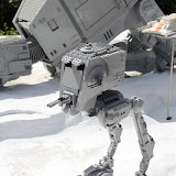 AT-ST walker in lego