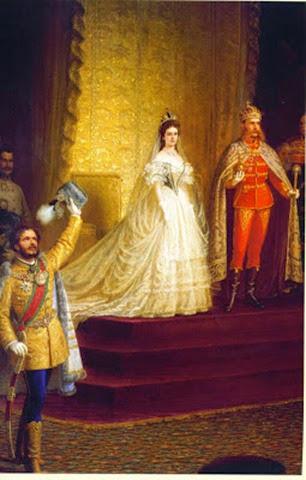 La coronación en Budapest (1867)