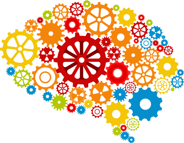creativity brain as gears