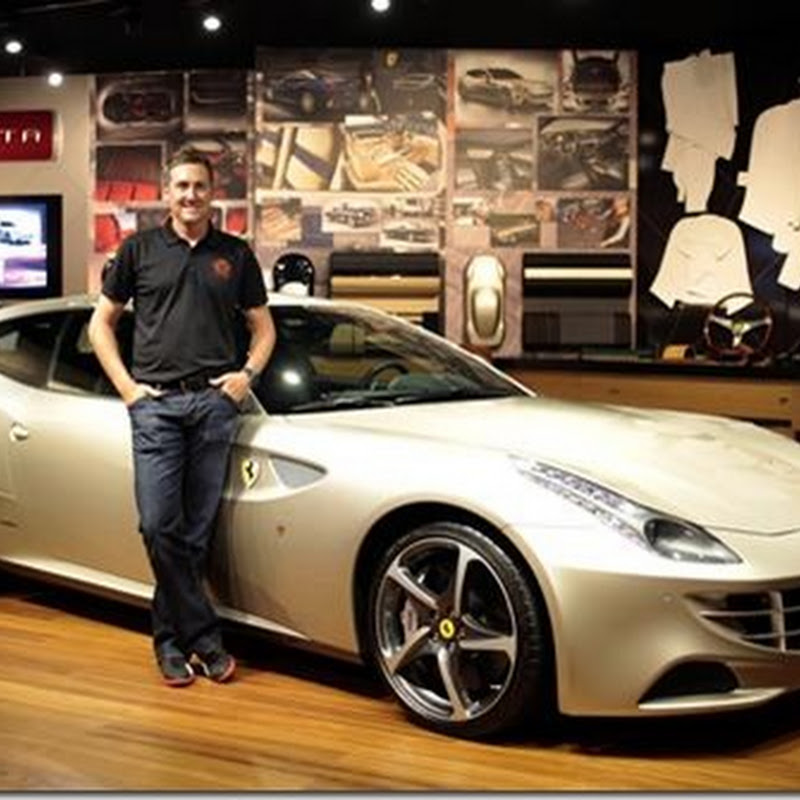 Ian Poulter Has Gone All Custom Ferrari FF, Cobra Ferrari Driver, Curtains and Boots?