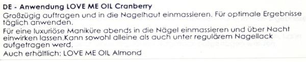 CranberryOilCiate