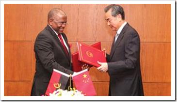 Georges Chikoti na China 2013
