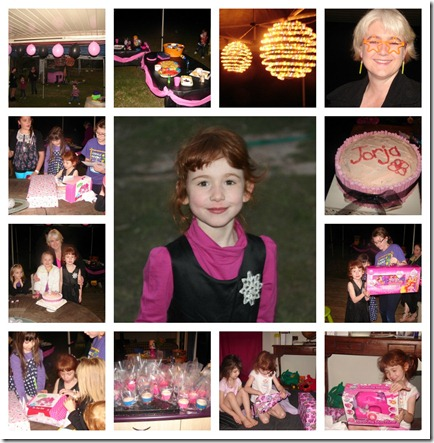 jorja birthday Collage