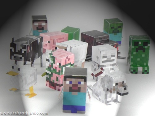 Paper Toys minecraft