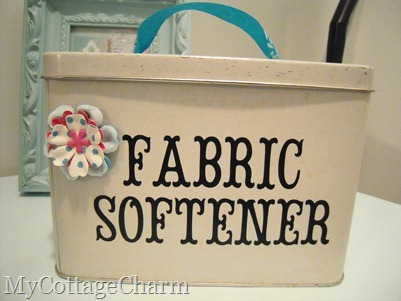 fabric softener container idea