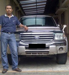 photo mobil ford everest xlt at an Danial Nurul Hikmah