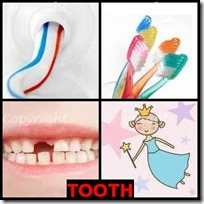 TOOTH- 4 Pics 1 Word Answers 3 Letters