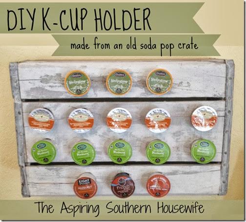 DIY K Cup Holder