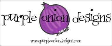 Purple Onion Designs Logo - 100