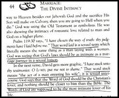 schaap divine intimacy heresy sexual